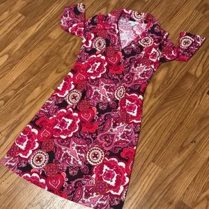 Jude Connally Dresses - Jude Connolly Paisley Michelle Style Print Dress